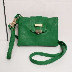 Charming Charlie Green Essential Crossbody Bag